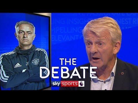 Who spilled milk over Jose Mourinho?! | Gordon Strachan & Alan Smith | The Debate