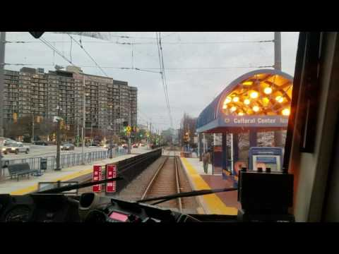 MTA MARYLAND:A Ride On The Light Rail To Penn Station From Baltimore Street
