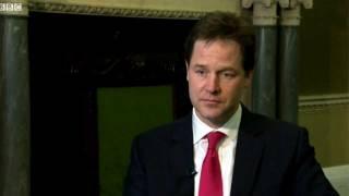 "Nick Clegg says ""Cunt"" in BBC Interveiw"