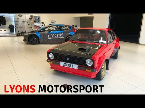 2018 New Ford Escort RS Mk2 Rally Car & 2015 Fiesta R5 (Full Tour) Stavros969