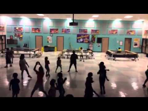 "OrchardView elementary dancing to ""Happy"" by Parnell"