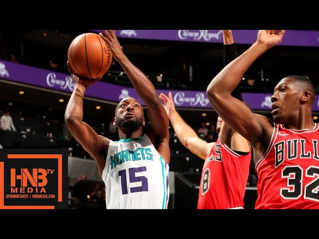 Chicago Bulls vs Charlotte Hornets Full Game Highlights | 10.08.2018, NBA Preseason