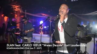 carlo vieux 5 lan premiere mwen dezole fort lauderdale jan 7 2017