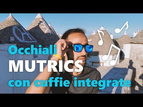 Recensione Mutrics, gli occhiali da Sole con cuffie integrate