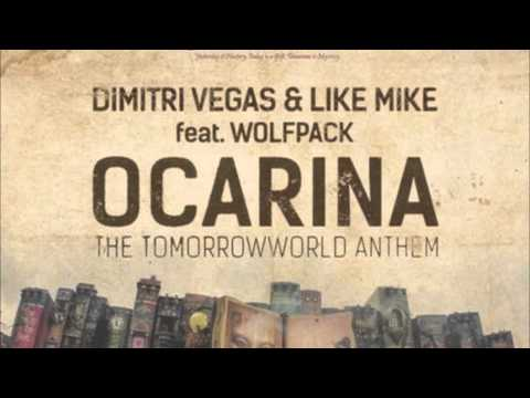 Ocarina Tomorrowland Anthem  Dimitri Vegas & Like Mike feat Wolfpack