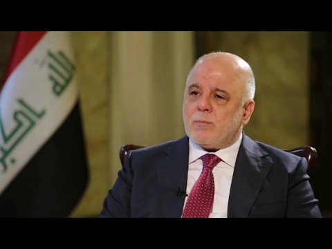 Exclusive: Iraqi PM says Islamic State group 'crushed militarily'