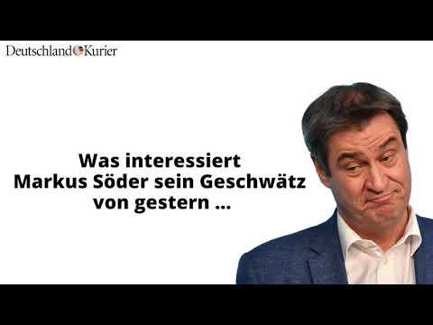 Markus Söder (CSU): Der Umfaller