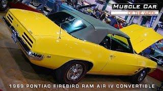 Muscle Car Of The Week Video #77: 1969 Pontiac Firebird Ram Air IV Convertible