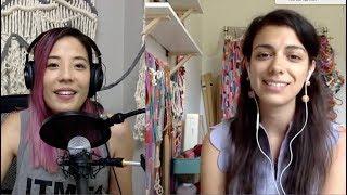 The Fiber Artist Podcast with Cindy Bokser - Alicia Scardetta
