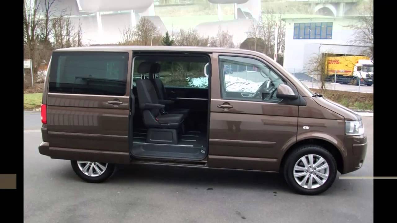 vw t5 multivan 2 0 tdi 180 ps comfortline toffeebraun youtube. Black Bedroom Furniture Sets. Home Design Ideas