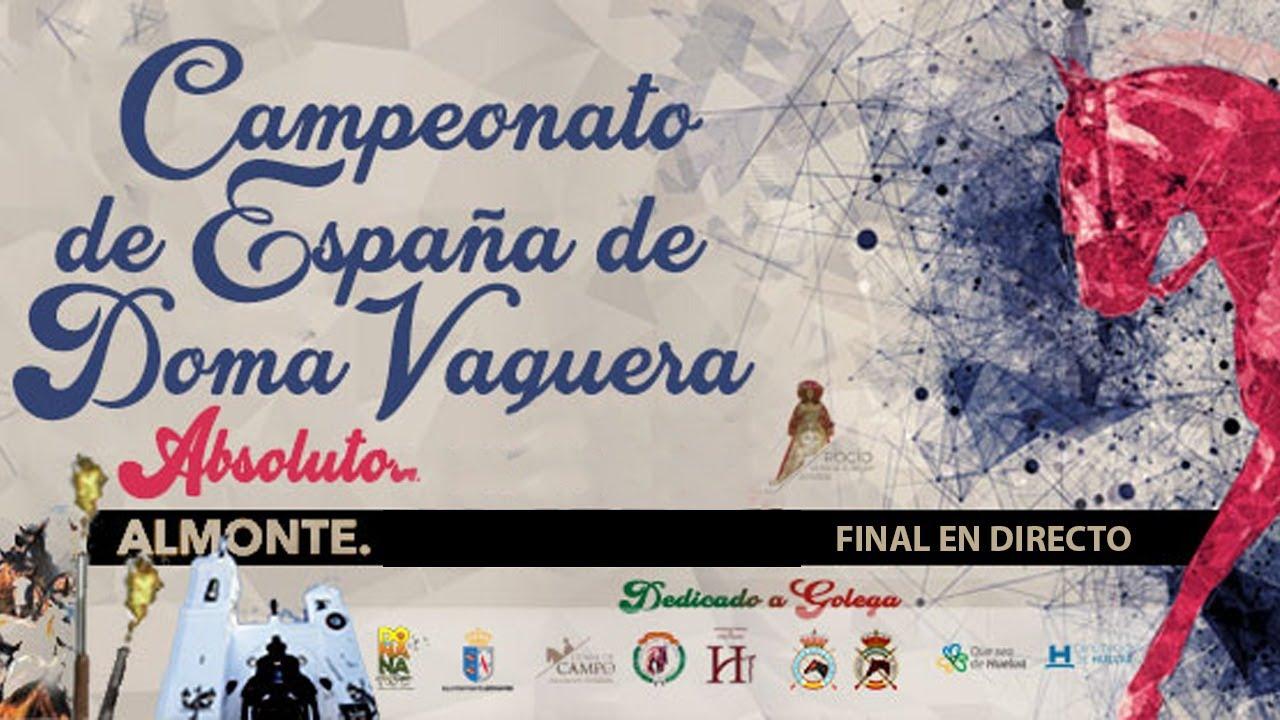 Resultado de imagen de campeonato de España de doma vaquera en Almonte