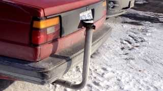 my tractor flap exhaust on my jetta