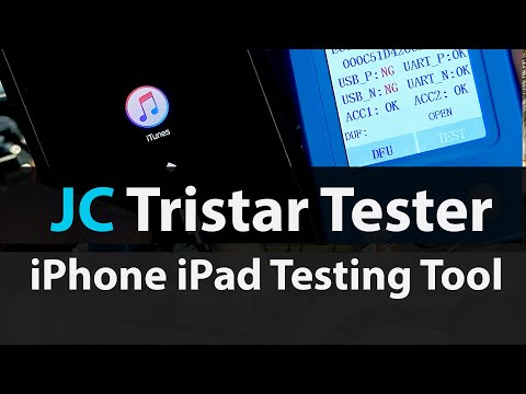 JC U2 Tristar Tester - Diagnose Charging U2 IC On IPhones & IPads