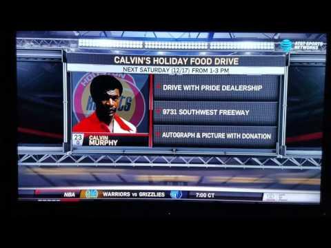 CALVIN MURPHY FOOD DRIVE