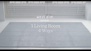 1 Living Room, 4 Ways