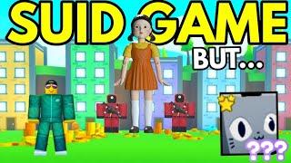 ROBLOX SQUID GAME but... it's Pet Simulator X (WINNER GETS a HUGE CAT)