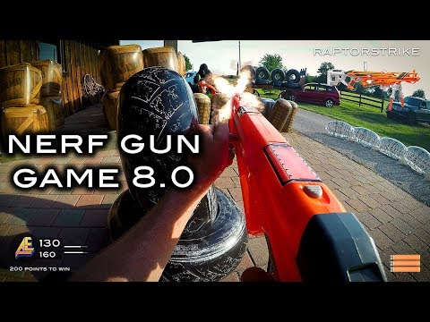 Nerf meets Call of Duty: Gun Game 8.0 | First Person in 4K! letöltés