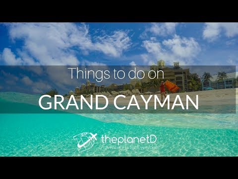 Cayman Islands Travel Vlogs - 11 Things to do on Grand Cayma