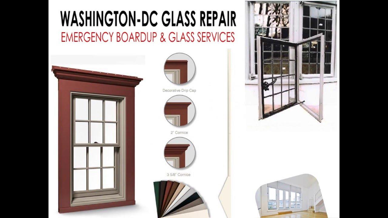 Change your Broken Residential Storm Window Glass in Emergency - YouTube
