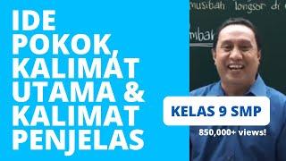 Quipper Video - Ide Pokok, Kalimat Utama, dan Kalimat Penjelas - UN Bahasa Indonesia