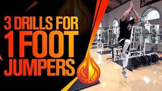 3 Drills To Jump Higher Off Of 1 FOOT with Coach Alan
