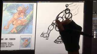 DDC Episode 9 - How to Draw Tarzan