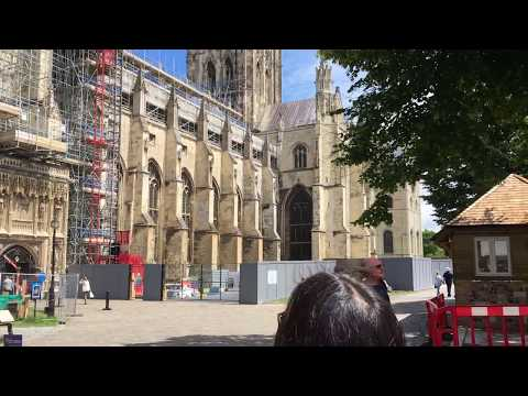 Vlog: Canterbury, Dover Castle, and White Cliffs