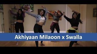 akhiyaan milaoon x swalla dance dr srimix jai matt afsana dance group
