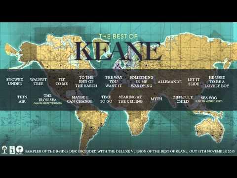 Best Of Keane B-SIDES - Official Album Sampler