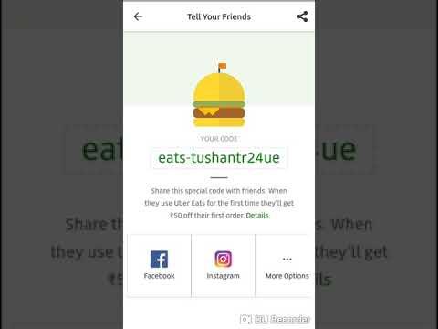 Uber Eats Invite Code
