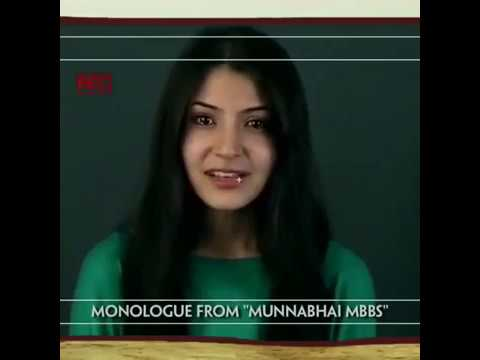 Anushka Sharma's 1st Audition Video Clip for Munnabhai MBBS & 3 Idiots ।। You Never Seen