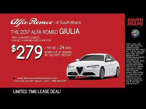Alfa Romeo Giulia Deal at South Miami Alfa Romeo