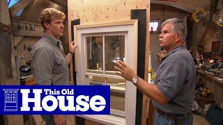 How to Flash a Window - This Old House
