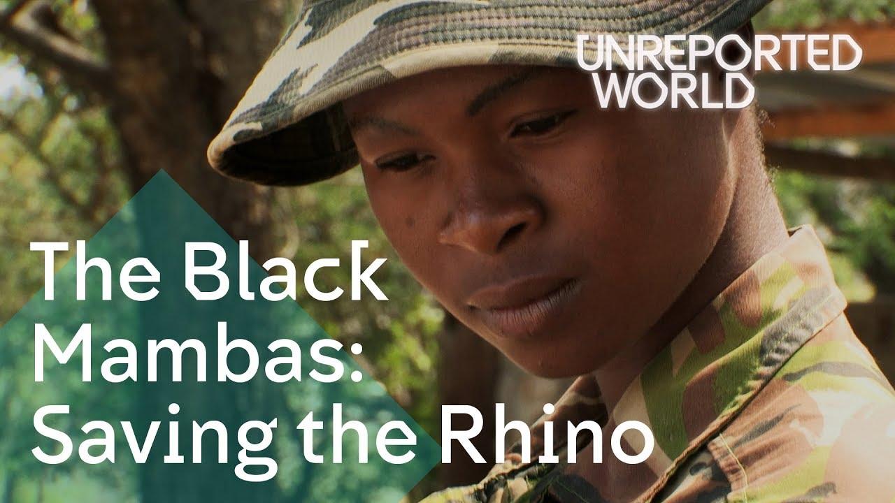 The all-female anti-poaching unit saving the rhino | Unreported World