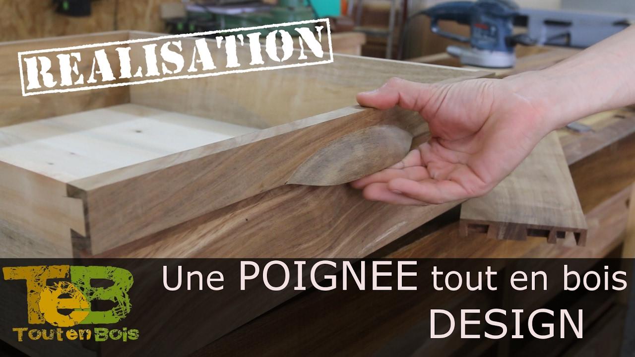 Diy Bouton De Meuble travail du bois - fabrication du poignées design tout en bois