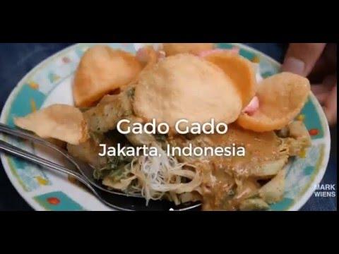 Jakarta Street Food: Gado-Gado