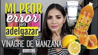 vinagre de manzana destrozo mi estomago | Giovanna Espinoza