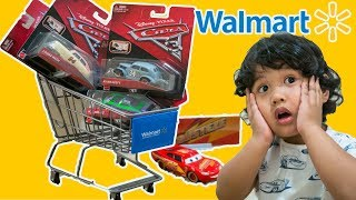 Walmart Toy Hunt CARS 3 Rusteze McQueen DIECAST collector card NEXT GEN Racers Herb Curbler