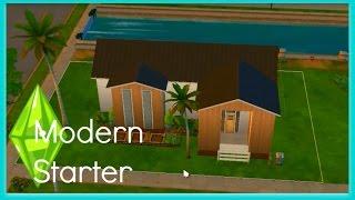 Sims 4 Speed Build - Modern Starter