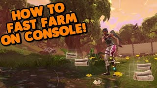 *NEW* HOW TO FAST FARM ON CONSOLE FORTNITE! (After Patch)