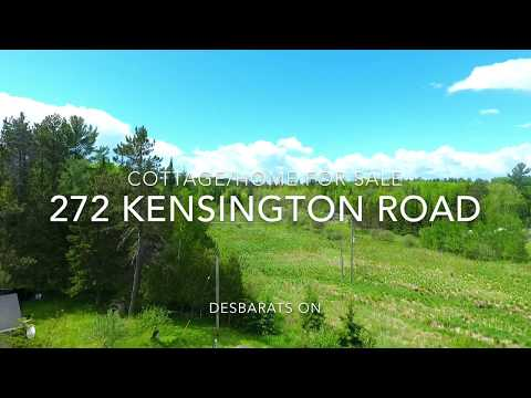 Elevated Outlook. Two Cottages for sale. 272 Kensington Road Desbarats On.