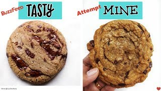 I Tried BuzzFeed Tasty's PERFECT Chocolate Chip Cookie