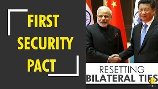 India, China to ink first security pact