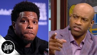 Vince Carter calls punishment for Warriors investor who shoved Kyle Lowry 'not enough' | The Jump