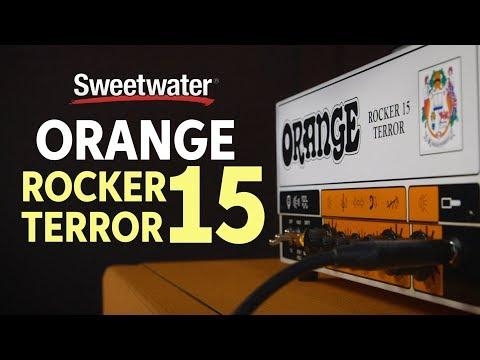 Orange Rocker 15 Terror 15-watt 2-channel Tube Head Review