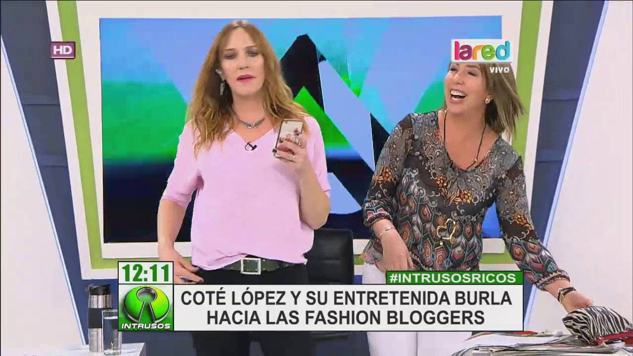 La Graciosa Burla De Cot L Pez A Las Fashion Bloggers Youtube