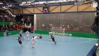 Hamburg Panthers - UFC Münster (DFB-Futsal-Cup Finale) | ELBKICK.TV - präsentiert von HAKA