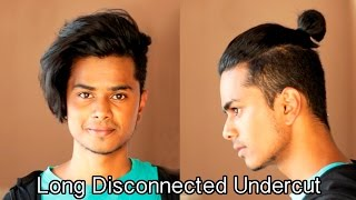 Long Disconnected Undercut | Men's hairstyling tutorial