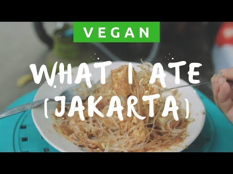 🔸 WHAT I ATE IN A DAY - VEGAN IN JAKARTA