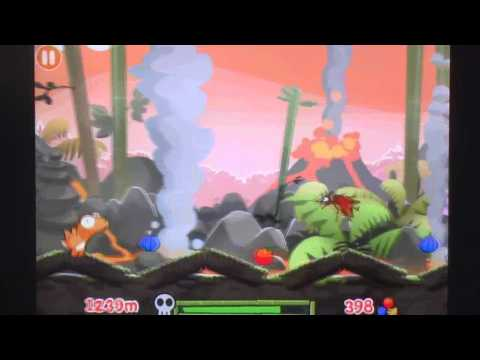 Dino Rush iPhone Gameplay Review - AppSpy.com